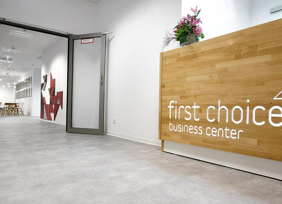 Empfang im First Choice Business Center Wiesbaden
